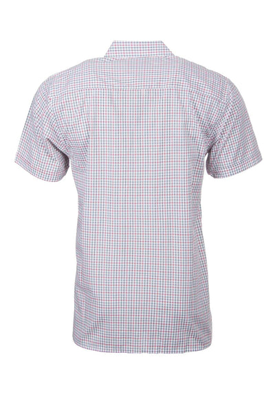 Beeford Red - Short Sleeved Country Check Shirts