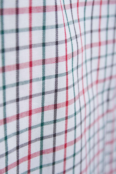 Beeford Red - Classic Check Summer Shirts