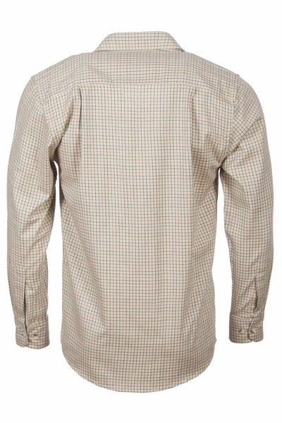Poacher Beige - Long sleeved Mens Rydale Shirts