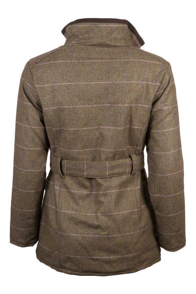 Small Check - Tweed Belted Coat