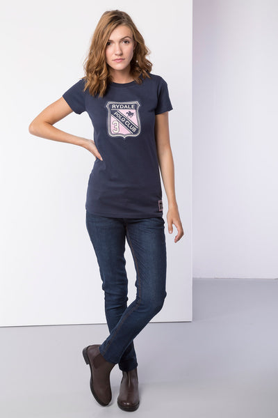 Navy - Ladies Betty Polo Club T-Shirt