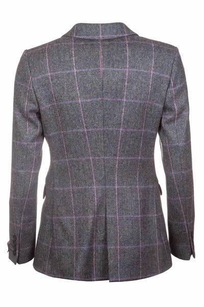 Lucy - Ladies Long Tweed Blazer
