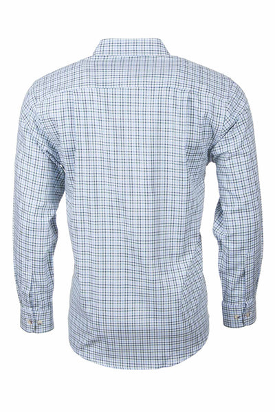 Garton Blue - Mens Rydale Long Sleeved Shirts