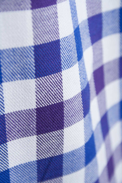 Otley Blue - Mens Country Checked Shirt