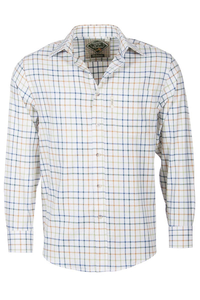Blue Mix - Mens Rydale Cotton Shirtz