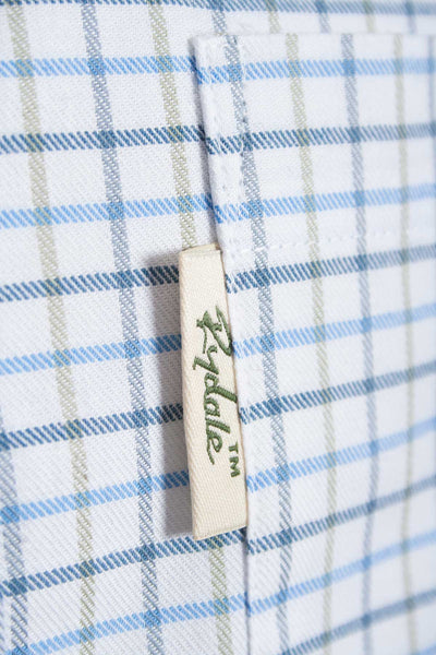 Tattersall Blue - Classic Rydale Check Shirts