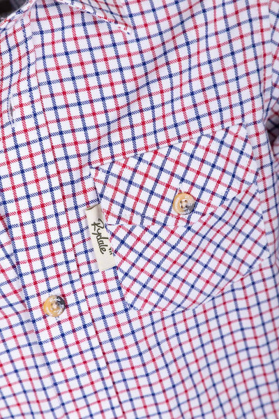 Shipley Red - Rydale Juniors' Boys' Country Check Shirts