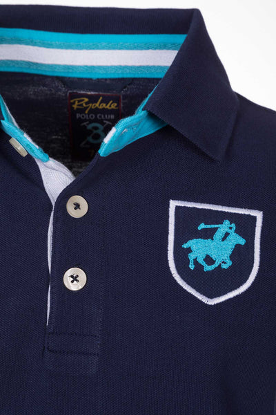 Navy - Boys Fordon II Polo Shirt