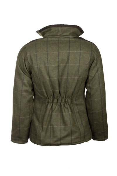 Olive/Pink - Ladies Bramham II Tweed Jacket