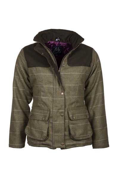 Small Check - Ladies Bramham II Tweed Jacket