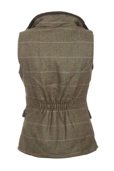 Small Check - Ladies Bramham II Tweed Waistcoat