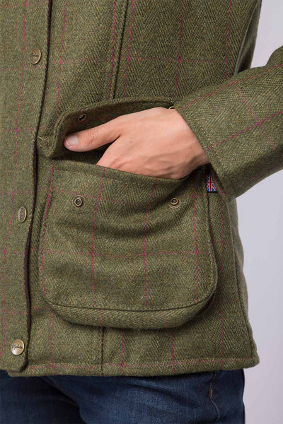 Plum - Bramham Tweed Jacket