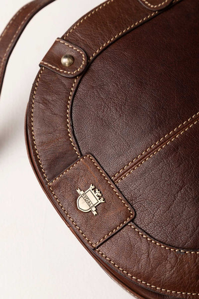 Bramham Leather Saddle Bag