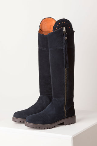 Bramham Tall Suede Country Boot