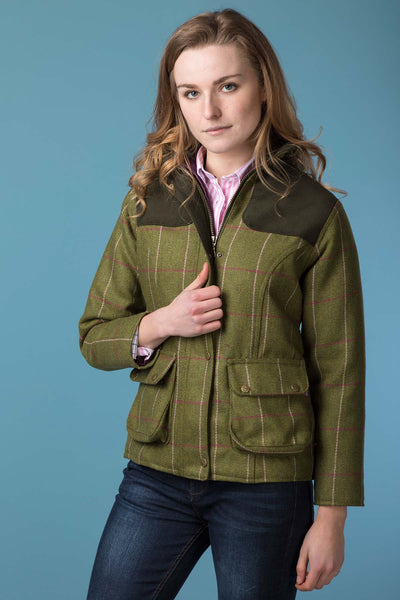 Light Green/Pink - Bramham Tweed Jacket