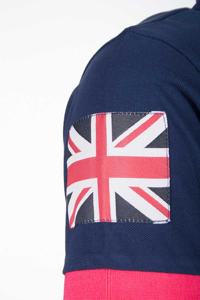 Navy - Muston British By Design Polo