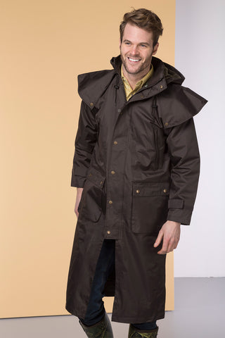 Dark Brown - Mens Brompton II Coat