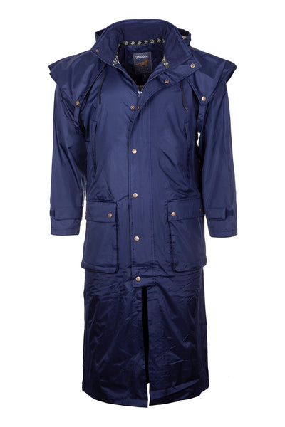 Navy - Brompton III Full Length Riding Coat