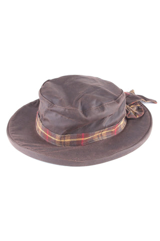 Wax Cotton Bow Hat
