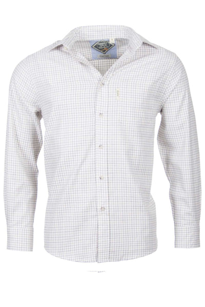 Garton Brown - Mens Cotton Check Shirt