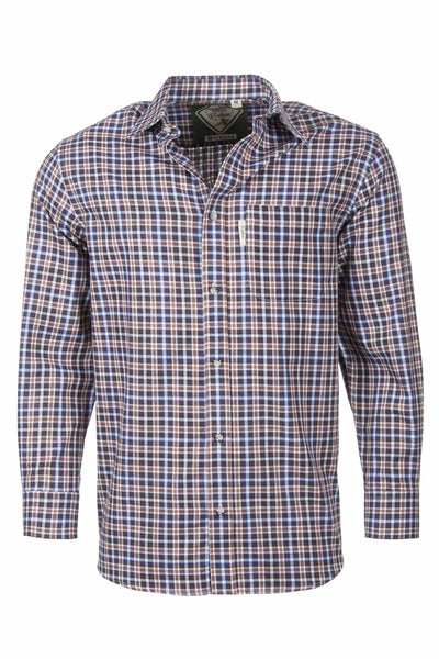Wetwang Brown - Country Checked Shirts