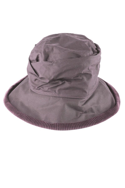 Brown - Ladies Waxed Cotton Hats