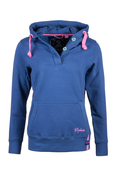 Jblue - Button Neck Hoody