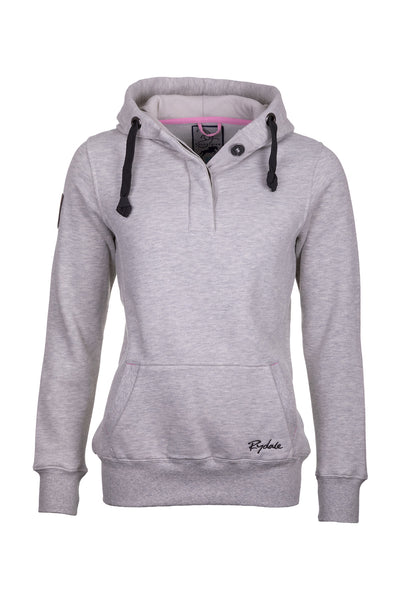 Soft Grey - Button Hoody