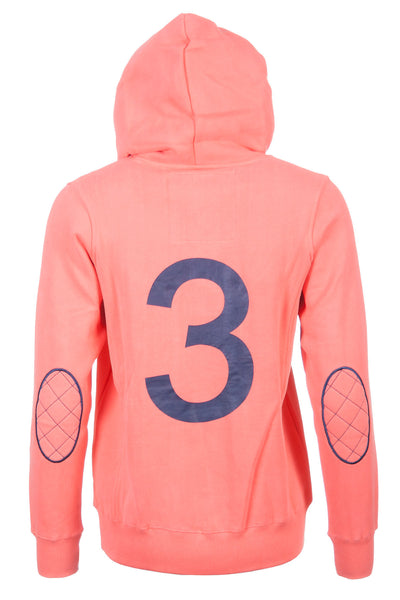 Coral - Ladies Rydale No.3 Hoodies