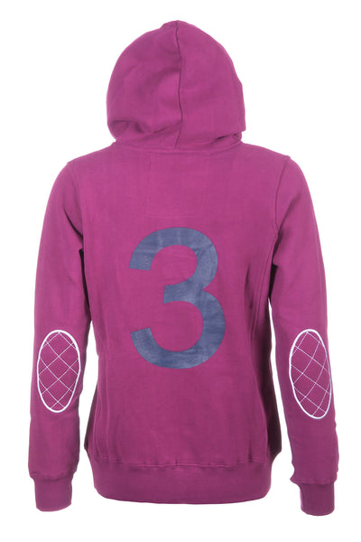 Wine - Ladies Rydale No.3 Hoodies