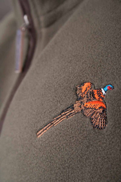 Olive Pheasant - Rydale Gents Hunting Fleece Bodywarmer