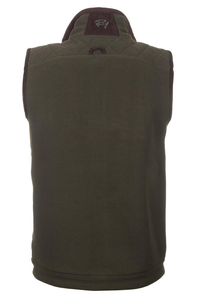 Olive - Warm Shooting Fleece Gilet