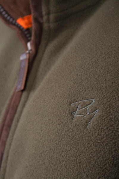 Olive - Rydale Gents Hunting Fleece Bodywarmer