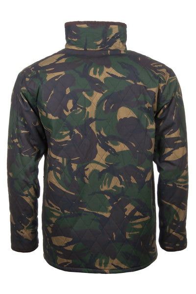 Camo - Quilted Wax Cotton Jacket