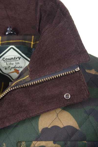 Camo - Gentlemans Shooting Wax Jacket