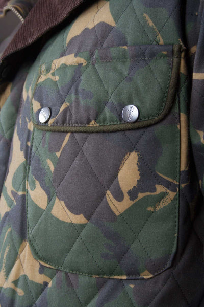 Camo - Rydale Wax Coat