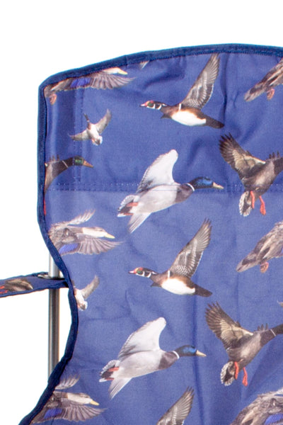 Duck Blue - Rydale Patterned Camping Chairs