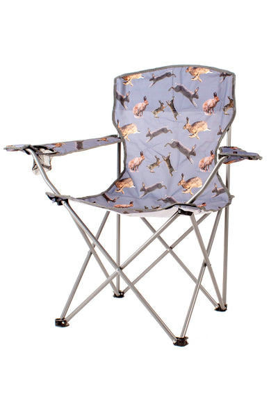 Hare Buff - Rydale Patterned Camping Chairs