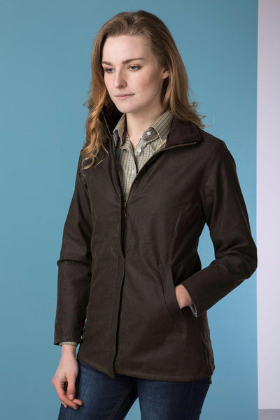 Olive - Ladies Cawood Wax Jacket
