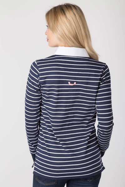Navy - Ladies Cayton Rugby Shirt