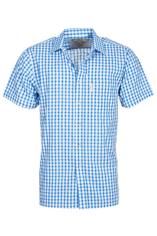 Short Sleeved Check Shirts
