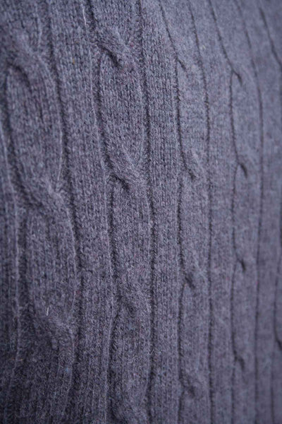 Dark Charcoal - Mens Lambswool Sweater