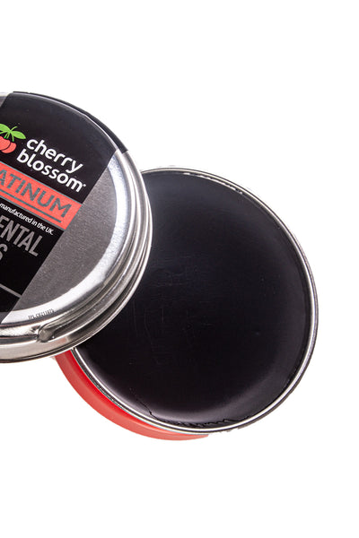 Black - Cherry Blossom Shoe Polish