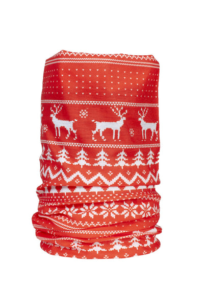 Nordic Reindeer - Christmas Neck Gaiters