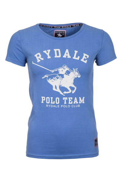 Navy - Ladies Clara Polo Club T-Shirt