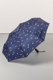 Horse Navy II - Compact Umbrella