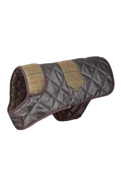 Country Quilted Dog Coat 20""