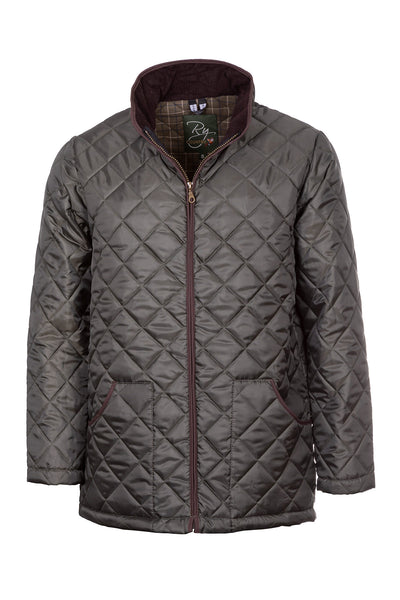 Olive - Country Quilted Jacket