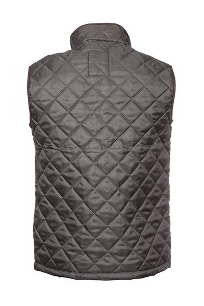 Olive - Country Quilted Waistcoat