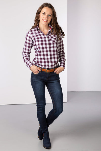 Berry - Country Shirt - Holly II